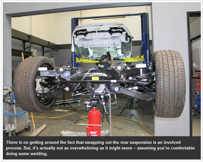 Moser S Solid Axle Conversion For Fifth Gen Camaro Mrk