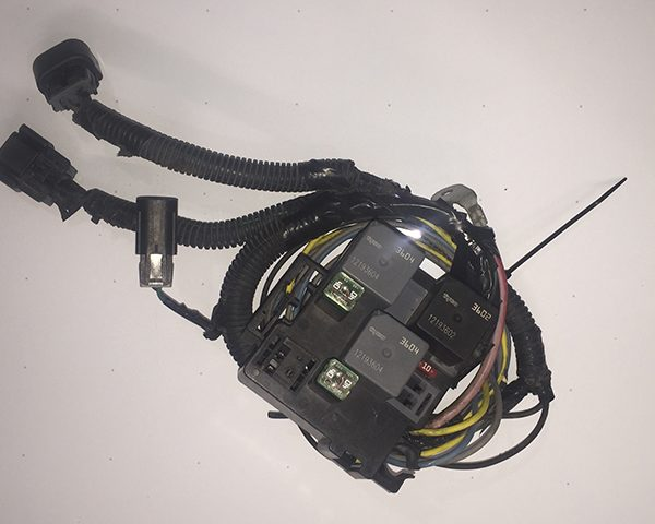 Truck_Fan_Harness 600x480 chevy truck oem 05 electric radiator fans harness (upgrade for 99 radiator fan wiring harness at crackthecode.co